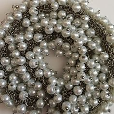 Beautiful Silver and Pearls Necklace ❤️ Beautiful Costume Jewelry  Jewelry Necklaces