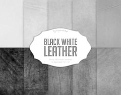#leather #backgrounds #textures #black #white #color #scrapbooking