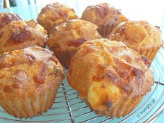 Cheese Cupcake, Ham And Cheese, Greek Recipes, No Cook Meals, Muffins, Brunch, Food And Drink, Dinner, Baking