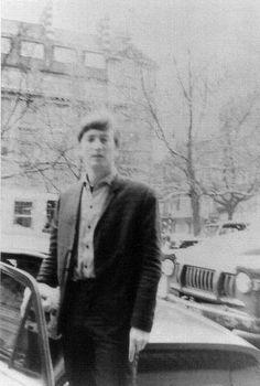 john Lennon Sloan Square. London. 10 February 1963.