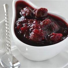 Dried Cherry and Cranberry Sauce Allrecipes.com
