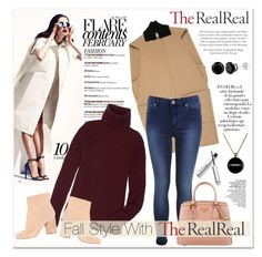 """""""Fall Style With The RealReal: Contest Entry"""" by vidrica ❤ liked on Polyvore featuring The Row, Balenciaga, Miss Selfridge, Prada, Maison Margiela and Arco"""