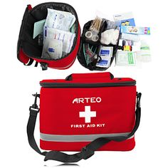 Promotional Emergency Survival First Aid Kit with features such as 1pc electronic thermometer hardhead 2.5 x 12cm, 1pc. the bandage scissors 15cm, 20pc 2 packs medical cotton swabs 7.5cm, 20pc 2 packs medical cotton ball, 2pc plastic tweezers 11cm, 5 packs gauze piece 5 x 5cm, 5 packs gauze piece 7.5 x 7.5cm etc., More Info: http://avonpromo.com/emergencysurvival-firstaidkit-p-7584.html