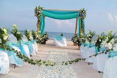 Bruiloft Inspiratie : Bruiloft op het strand