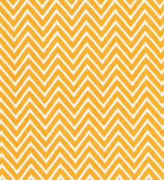 Fabric Finders Inc. Print #1356 Gold Chevron
