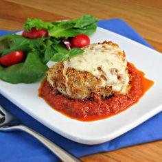 Chicken Recipes Light Chicken Parmesan recipe