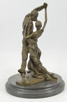 Tango Bronze Statue Sculpture