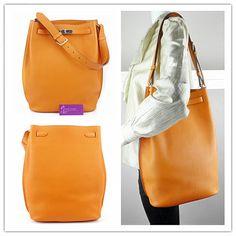 hermes printed canvas bag - Authentic Hermes So Kelly Light Brown Togo Shoulder Bag Free 1 Day ...