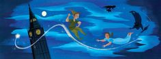 Mary Blair Concept Art from Peter Pan