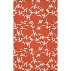 I pinned this Fleur Rug in Coral from the Rustic & Refined event at Joss and Main!