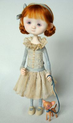 I love, love, love Ana Salvador's dolls...