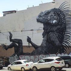 Huge Mural in Santurce #Santurceesley #descubrepr #puertorico #santurce