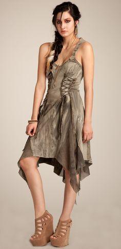 Warbird dress designed by Michelle Überreste. http://www.michelleuberreste.com