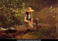 The Whittling Boy - Winslow Homer - www.winslow-homer.com