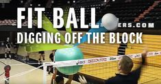 A great way to simulate what it's like to dig random balls off blockers' hands on scramble plays is by using a fit ball. As you'll see in this drill shared by Mark Barnard, head coach at Oregon State and former head coach of the Australian national team, spikes that deflect off a fit ball could very