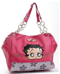 Funky Shoes for Women, Cute Dresses, Purses, Disney, Teen Clothing Purses And Handbags, Leather Handbags, Betty Boop Figurines, Betty Boop Purses, Betty Boop Pictures, Funky Shoes, Calf Leather, Accessories, Flower