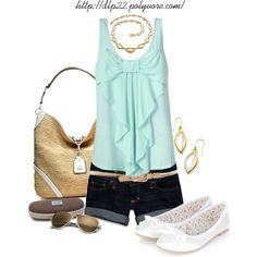 Summer Days, created by dlp22 on Polyvore