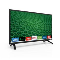 "Vizio D D24-d1 24"" 1080p Led-lcd Tv - 16:9 - Black - 178? / 178? - 1920 X 1080 - Dts Studio Sound, Dts Truvolume - 4 W Rms - Edge Led - Smart Tv - 1 X Hdmi - Usb - Ethernet - Wireless (d24-d1) for Sale"