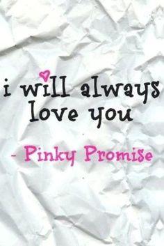 No matter what, Pinkie Swear ;)