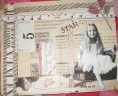 Vintage Gluebook Page