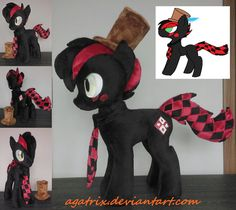 OC Hatter plush by agatrix.deviantart.com on @DeviantArt