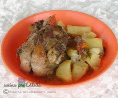 Tacchino al forno con patate, ricetta economica