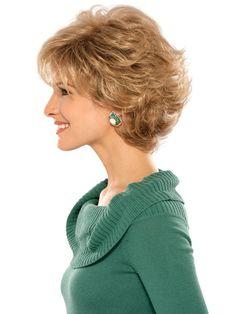 Estetica Designs Mandy Wig : Profile View | Color R24/18BT