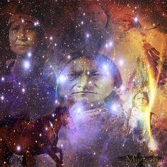 "Art piece ""Native One""  http://fineartamerica.com/featured/native-one-mynzah-.html"