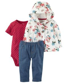 766d6c588 Put together a wardrobe full of cute clothing with baby girl matching  outfits from Babies