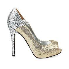 JALYN - Højhælede sko Stilet Hæl Funklende Glitter - DKK kr. 364