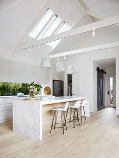 Celebrity Kitchens with Caesarstone: Part Two | best images open kitchen design