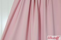 lillestoff » Sommersweat rosa « // derzeit leider nicht erhältlich