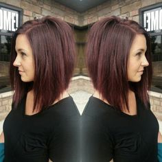 Long Inverted Bob Hairstyles by oldrose
