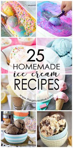 Homemade Ice Cream Recipes   How to make homemade ice cream   No Ice Cream Maker Ice Cream Recipes