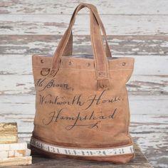 Hampstead Script Tote Bag
