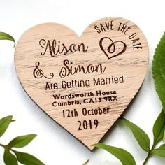 Affordable wooden save the dates add a rustic charm to start your invites. These engraved wedding magnets come with or without envelopes. Low Cost Wedding, Wedding Guest List, Card Box Wedding, Wedding Ideas, Rustic Save The Dates, Wedding Save The Dates, Rustic Invitations, Wedding Invitations, Invitation Cards