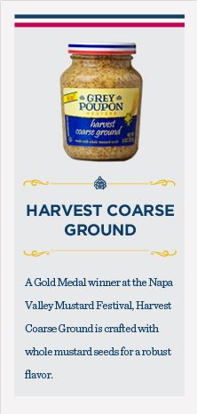 Harvest Coarse Ground Mustard #greypoupon