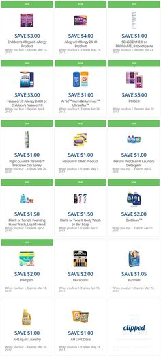 the latest rite aid load2card coupons...   http://www.iheartriteaid.com/2017/03/load2card-coupons-031417.html   #riteaid #coupons #couponing #couponcommunity