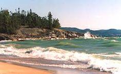 Camping, Agawa Bay, Ontario's Lake Superior Provincial Park