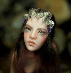 Pond Mermaid Handsculpted OOAK Art Doll Fairy by NenufarBlanco, €275.00