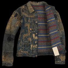 13731-02 - Kapital - Boro 1ss Jacket in Indigo
