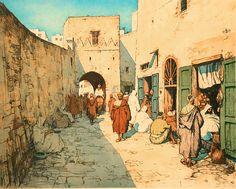 Tavik František Šimon - Mainstreet in Tangier
