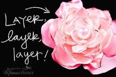 Singed+Chiffon+Flower+Tutorial