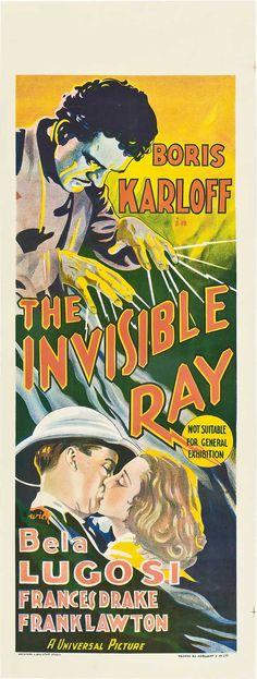 The Invisible Ray (1936) boris #karloff bela #lugosi #horror