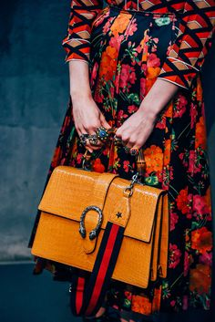 Best handbags and purses : gucci the coveteur - women Best Handbags, Gucci Handbags, Handbags Online, Leather Handbags, Moda Fashion, Fashion Bags, Gucci Fashion, Orange Hose, Chambray