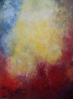 """Saatchi Online Artist Wietzie Gerber; Painting, """"Automne"""" #art"""