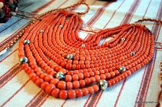 Korali - traditional ukrainian jewelry.