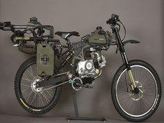Le meilleur véhicule pour échapper aux zombies ? le vélo de guerre !