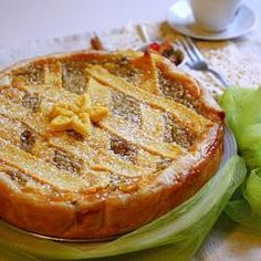 Torta de ricota italiana de Páscoa