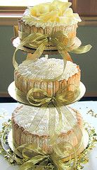 pretty cakes on cake stand Beautiful Wedding Cakes, Gorgeous Cakes, Pretty Cakes, Amazing Cakes, Beautiful Flowers, Take The Cake, Love Cake, Wedding Cakes With Cupcakes, Cupcake Cakes